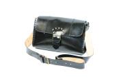 MadeInItaly Women's Baguette Handbag Black black