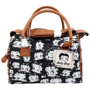 BETTY BOOP Noir - Women's Chest Bag with Shoulder Strap and Two Handles - Colour