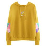 Women's Hoodies,Kingwo Ladies Hoody Autumn Long Sleeve Hoodie Sweatshirt Jumper Hooded Pullover Tops Blouse
