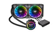 Thermaltake Floe Riing RGB 240 TT AIO Water-Cooling CPU Cooler - Multi-Colour