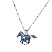 SANWOOD Women's Cute Horse Pendant Chain Necklace Xmas Gift Charming Jewellery Gift