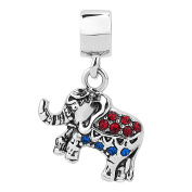 Sug Jasmin Lucky Elephant Charm Beads For Bracelet