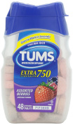 GLAXOSMITHKLINE - TUMS EXTRA STRENGTH BERRY 48CT