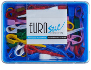 Euro Stil – Articles Hairdressing – Clamps Small For Permanent – 60 units