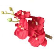 Haresle Women Girls Hawaiian Flower Hair Clip Handmade Orchid Flower Hairpin