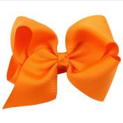 iTemer 2 Pcs Big Bow Hairpins Barrettes Hair Clips Boutique Ribbon Hair Accessories for Kids Girls 12*8 Cm