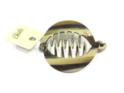 Crab Clip to comb rodoid French Gradient Beige