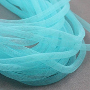 Beads4Crafts Blue Crinoline Tube 8mm (1 Metre) CC711