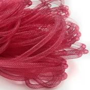 Beads4Crafts Red Crinoline Tube 5mm (1 Metre) CC698