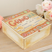 'Grandma Knows Everything' Wooden Storage Box - Great Gift for Grandma!