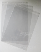 Cello Bags A3 - 310 x 435mm + 30mm Lip Self Seal packed in 100's