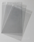 Cello Bags 165 x 230mm + 30mm Lip Self Seal packed in 100's