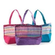 """Craft Factory Purple Craft Factory """"Sunshine"""" Crafters Carry All Tote Bag"""