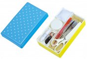 Mass support Ptolemy sewing kit / Compact No.7868 blue x yellow