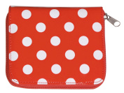 Mass support sewing kit / zipper pouch Slim No.8217 Red