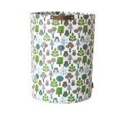 Owls Cylinder Storage Bin by DwellStudio - Owls Cylinder Storage Bin by DwellStudio