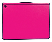 Artcare 15482240 64 x 5 x 49 cm A2 Synthetic Material Premier Portfolio with 5 Free Sleeves, Fuchsia Pink