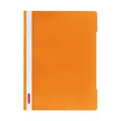 Herlitz A4 Paper Flat File - Orange