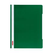 Herlitz A4 Paper Flat File - Green