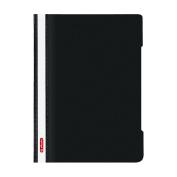 Herlitz A4 Paper Flat File - Black