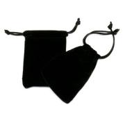 Velvet Gift Pouch - Black