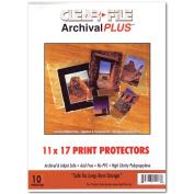 Archival Plus Print Bags 11x17 Pkg 10