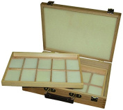 Artcoe Two Tray Pastel Box, Pine