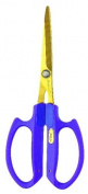Saboten Gold titanium Flower Scissors Long type 1297