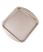 NWYJR Metal cake mould home square cake mould non-stick pan -20cm