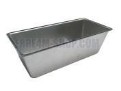 Loaf Tin in Pure Aluminium 21.8 x 9 x 6.5 (H) cm Measures internal