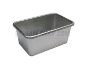 Loaf Tin in Pure Aluminium 8 x 5 x 3.8 (H) cm
