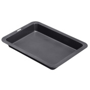 Meijunter 42x31cm Nonstick Deep Roasting Pan Thanksgiving Day Turkey Tray Veg Baking Tin Cooking Oven Dish