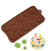 COFCO Silicate Fatdant Chocolate Mould Buttat Shape DIY Cwithy Mould Cake Decor Icing Sugarcraft Mould Baking Tools