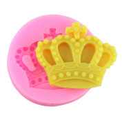 Mujiang Baking Moulds Silicone Crown Fondant Mould Queen Candy Chocolate Moulds For Sugar Craft Gum Pate Cake Decorating