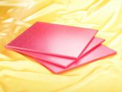 Dough Scraper 13461 Bottom Thick Square Cardboard Pink 36 x 36 x 1 cm