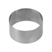 Supreminox Round Ring, Stainless Steel, Silver, 30 x 7 x 4.5 cm