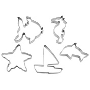 GP & me art 5237 Cookie Cutters Assorted Sea 5PZ