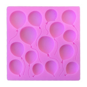 BeautyBouse Balloon Silicone Chocolate Sugar Fondant Cake Mould Handmade Soap Mould Decor DIY Baking Decorating Tools