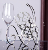CLOTHES- Crystal European Creative Home Living Room Red Wine Display Stand Bar Hotel Red Wine Showcase Retro Personality Fashion Durable Home Lockers Wine Racks