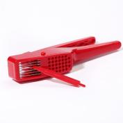 ZWANDP Stainless Steel Garlic Press Hand Presser Crusher Ginger Squeezer Garlic slicer