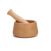 Solid Wood Home Manually Garlic Press Pound Medicine Pounded Garlic Cans Broken Ginger Mashing Abrader