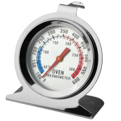 GuDoQi Baking Tools Stainless Steel Oven Thermometer Hang Or Stand In Oven