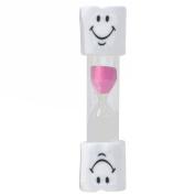 LUFA Kids Toothbrush Timer 2 Minutes Smiley Sand Timer for Brushing Children Teenager
