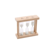 CGB Giftware Loft 3-in-1 Natural Wood Egg Timer (One Size)