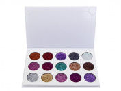 Panlom® 15 Colours Makeup Glitter Eyeshadow Palette Powder Metallic Shimmer Eye Shadow Professional Palette Highly Mineral Cosmetic