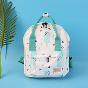 All-match cute adorable little backpack waterproof bag printing small fresh female students on campus