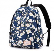Double shoulder backpack campus bag for small fresh students