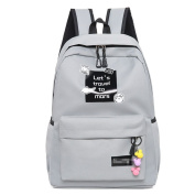 GXYLLDS Fashion Leisure Backpack For Girls Teenage School Backpack Women Men Backpack Purse,Grey-OneSize