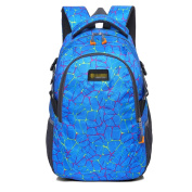 GXYLLDS Lightweight School Bag Nylon Leisure Backpack For Youth Teenager Girls And Boys Casual Daypack Shoulder Student Bag,Blue-OneSize