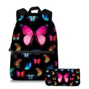 Jeremysport Butterfly Backpack Rucksack School Bags